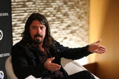 #DaveGrohl at the WSJ Disruption Dinner on September 29, 2014 in New York City  (Photo by  Neilson Barnard)