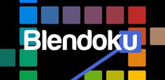 Blendoku, a free mobile game for the IOS and Android mobile phones. It is a puzzle game same as like crosswords but rather than words this game makes Graphic Design Humor, Funny Design, Graphic Design Inspiration, Fun Games, Games To Play, Awesome Games, Free Mobile Games, Latest Games, Tool Design