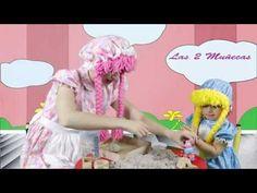 Las 2 Muñecas con Peppa Pig Jugando en La Arena (Parte 2) - YouTube #kids #fun #sand #activities #niños #peppapig