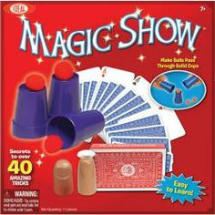 Ideal 40 Trick Magic Show Kit, Multicolor Easy Magic Tricks, Magic Show, Card Tricks, Deck Of Cards, New Toys, Good Advice, Getting Old, Kids Christmas, The Magicians