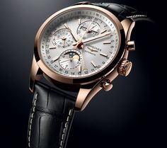 Longines Conquest Classic Moonphase, une montre d'une grande beauté.