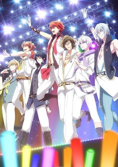 Idolish 7 Anime Gets Opening Scene; New Cast & Visual Reveals Also - Anime Herald Fairy Tail, Mahouka Koukou No Rettousei, Super Anime, Boy Idols, Anime Episodes, Handsome Anime Guys, Otaku, Anime Music, Anime Shows