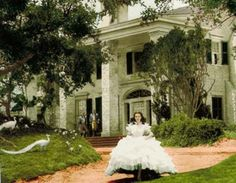 Stanley Oaks Plantation, legendary home in Gone With The Wind