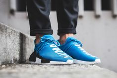 Adidas NMD PW Human Race Sharp Blue #Cool, #innovativedesign, #sneakers