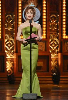 Bernadette Peters at the Tonys 2015-ageless, timeless
