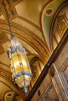 Fisher Building - Detroit, MI I used to skip school at Cass just to wander the halls here! State Of Michigan, Detroit Michigan, Art And Architecture, Architecture Details, My Building, Art Deco Era, Art Deco Design, Historic Homes, Art Deco Fashion