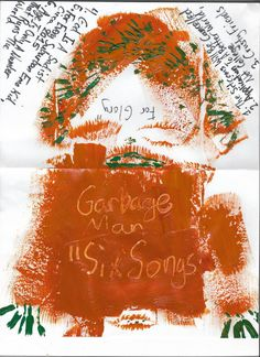"""Garbage Man 2014 """"Six Songs For Glory"""" CD"""
