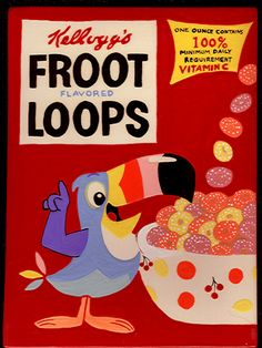 never too old for froot loops!