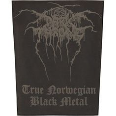 Dark Throne - Patches - Back $11.00