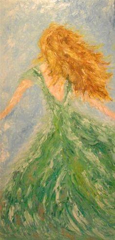 "Title: ""Windy Day"" | Art. Passion. ZsaZsa Bellagio"