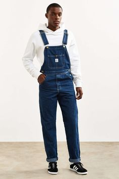Pointer Brand Tapered Washed Denim Overall - Urban Outfitters
