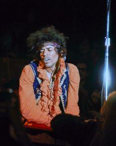gondolas in the sky - Jimi Hendrix, Monterey pop '67