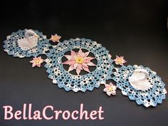 BellaCrochet: Serene Swans Doily: A Free Crochet Pattern For You