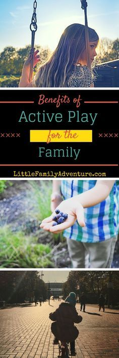 4 Benefits of Active Play for the Outdoor Family - See why you and your kids need to get outside and have fun together. #ad