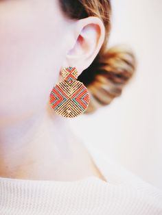 Quest Earrings $16 perfect gift for the upcoming Holidays.