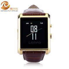 DM08 Bluetooth Smart Uhr Männer Leder IPS Smartwatch Armbanduhr für ios Android Telefon PK M26 U8 DZ09 GV08 GV18 Uhr //Price: $US $111.80 & FREE Shipping //     #smartwatches