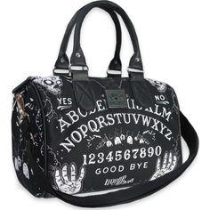 Ouija Round Bag