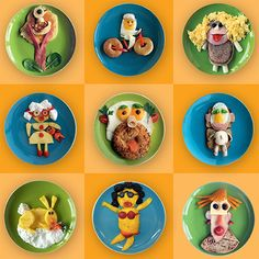 'Funny Food' by Bill & Claire Wurtzel. What a great way to combine art and nutrition.