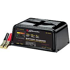 The Schumacher 75-amp fully automatic starter/ charger is great for charging 12V batteries, deep cycle batteries in emergency situations. #advanceautoparts