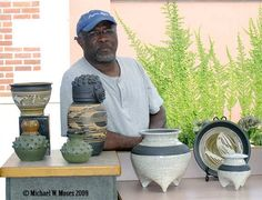 Charles Smith Fine Pottery (photo by M W Moses Pottery, via Flickr).  www.smith-pots.com