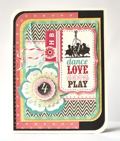 Card by @Amy Heller made with the #epiphanycrafts Shape Studio Tool Round 14. #echopark #cards