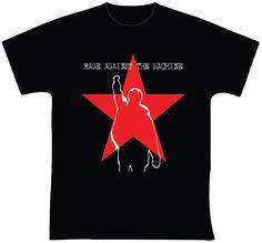 """Rage Against the Machine R$ 35,00 + frete Todas as cores Personalizamos e estampamos a sua ideia: imagem, frase ou logo preferido. Arte final. Telas sob encomenda. Estampas de/em camisas masculinas e femininas (e outros materiais). Fornecemos as camisas ou estampamos a sua própria. Envie a sua ideia ou escolha uma das """"nossas"""".... Blog: http://knupsilk.blogspot.com.br/ Pagina facebook: https://www.facebook.com/pages/KnupSilk-EstampariaSerigrafia/827832813899935?pnref=lhc…"""