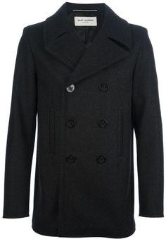 b5717d688 Men s Black Classic Pea Coat