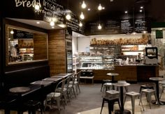 Rise Bakery Brand identity and interiors by End of Work