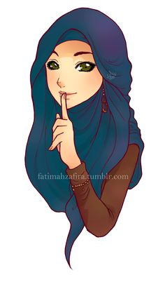 79 Best Hijab Art Images On Pinterest Drawings Hijab Drawing And