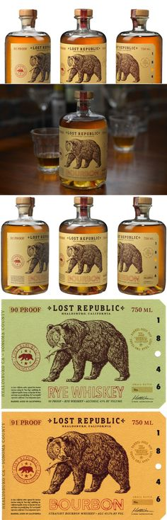 Lost Republic Bourbon — The Dieline | Packaging & Branding Design & Innovation News