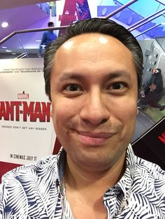 Ant-Man #imax #antman #ant-man #selfiemoviereview