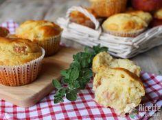 Muffin salati al Prosciutto