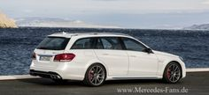 Fits surfboards and goes fast. Mercedes Benz Germany, Mercedes Benz E63 Amg, New Mercedes, Pictures Of Sports Cars, Car Pictures, Bmw Cars, Motor Car, Touring, Vehicle