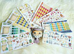 Hogwarts House Bullet Journal Sticker Kits- Hand Drawn Harry Potter Inspired…