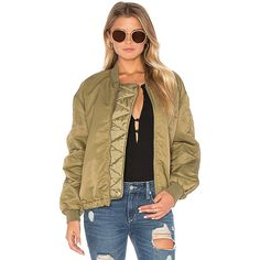 Maison Scotch Lightweight Bomber Jacket ($240) ❤ liked on Polyvore featuring outerwear, jackets, coats & jackets, nylon jacket, nylon bomber jacket, embellished jackets, flight jacket and lightweight nylon jacket