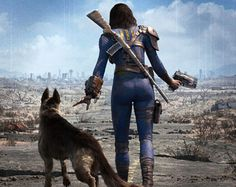 I mean, if there's one partner I want in a post apocalyptic world, it's a good dog for sure!