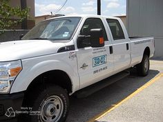 Fleet graphics set this truck apart in traffic for Environmental Noise Control.