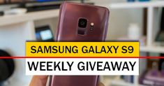 Android Authority International Weekly Giveaway - Enter for a chance to win a brand new Samsung Galaxy S9 Smartphone. Enter to win Samsung Galaxy S9 now!