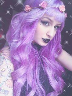 Lilac Pastel Hair  #hair #bright #dyed