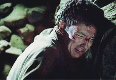 this still breaks my heart. the pain in his scream is heart-wrenching.  bravo colin. <3