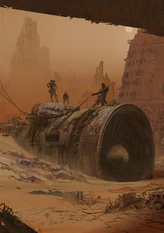 ArtStation - old work revision, mark zhang