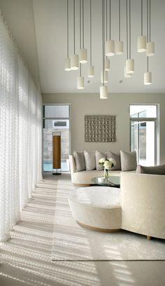 Contemporary decor. Light colors. Modern interior design ideas. Living room decor ideas. More decor ideas www.bocadolobo.com