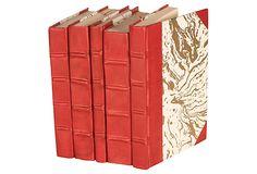 S/5 Parchment Collection, Red on OneKingsLane.com