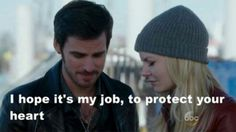 "#OnceUponATime 4x21 ""Mother"" - Hook and Emma"