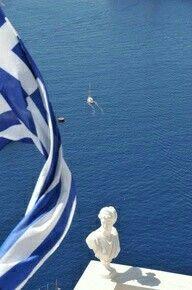 Santorini, Surfboard, Greece, Sea, Island, Explore, Places, Respect, Happiness