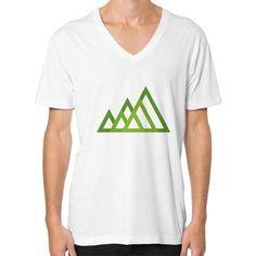 Mountains V-Neck (on man) Shirt