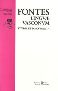 FONTES LINGUAE VASCONUM