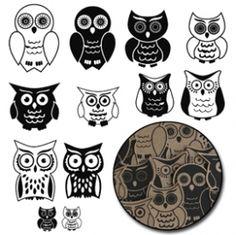 Krafty Owls - Black