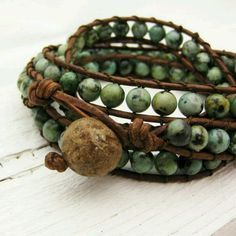 pulsera en verde