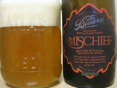 Mischief is similar to Upright's Five or Seven but it is a shame because it pales in comparison to both. I almost wish I never even heard of Upright so I could enjoy the average American-Belgian beer like you common plebes. 4.25 out of 5. Drink it, if you can't get some Upright.